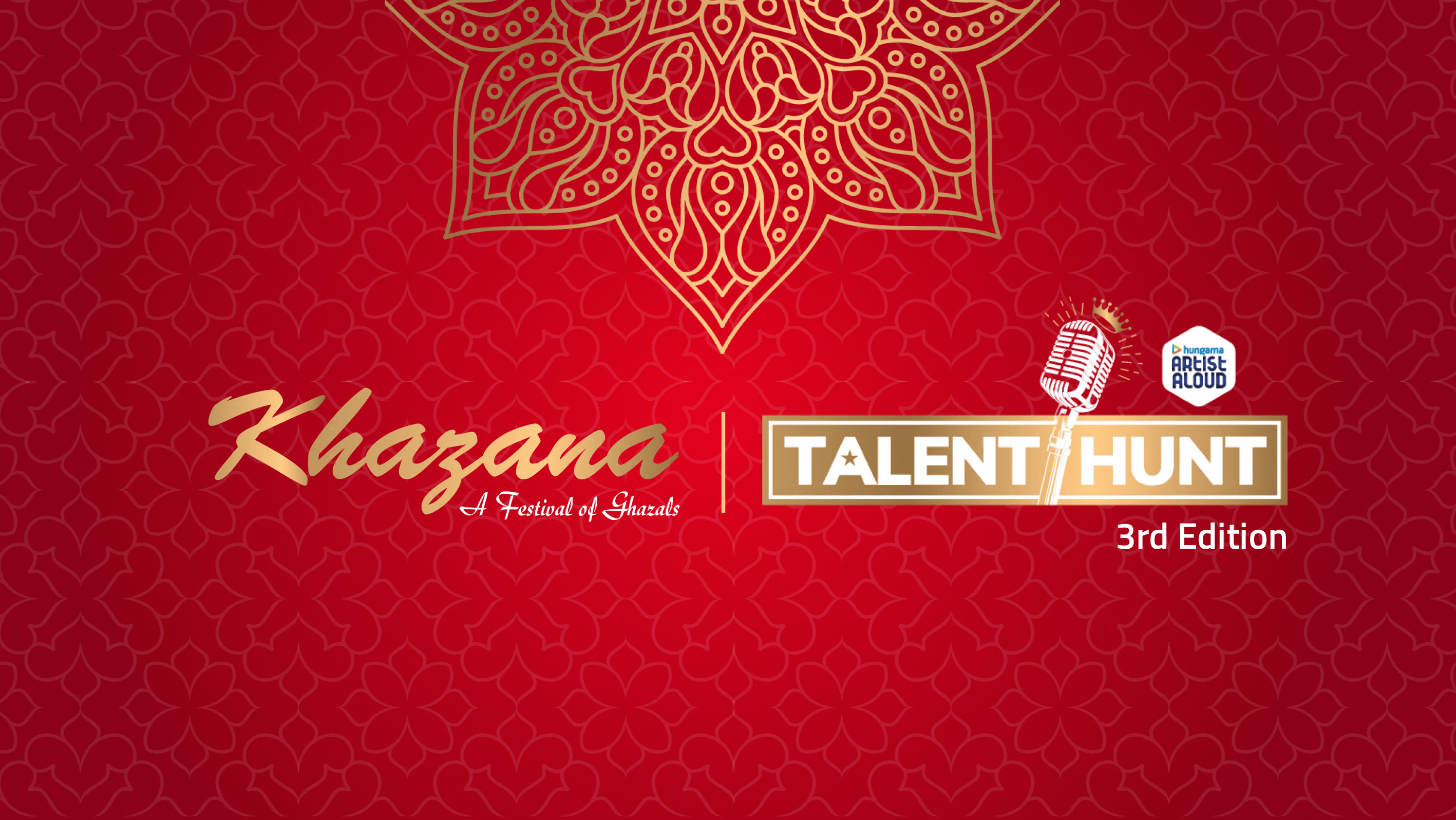 Participate in the 3rd Edition of Khazana Artist Aloud Talent Hunt